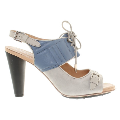 Tod's Sandals in blue / beige