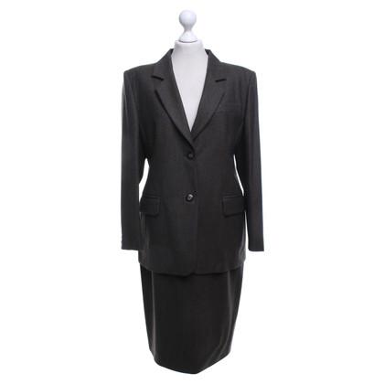 Marina Rinaldi Kostuum in grijs-bruin