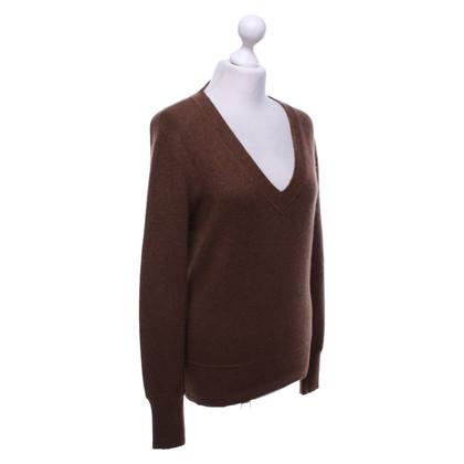 FFC Cashmere sweater in brown