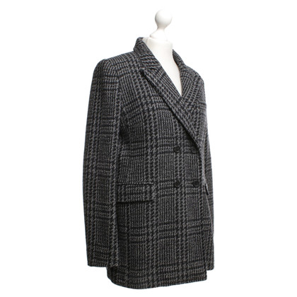 Isabel Marant Etoile Jacket with check pattern in black / grey