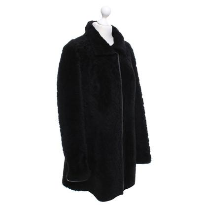 Escada Reversible lambskin coat