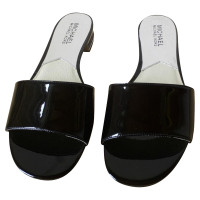 Michael Kors Sandals of black patent leather