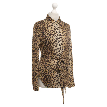 Chloé Leopard-style blouse