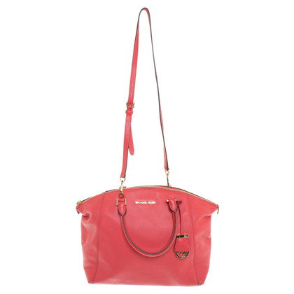 Michael Kors Handbag in coral red