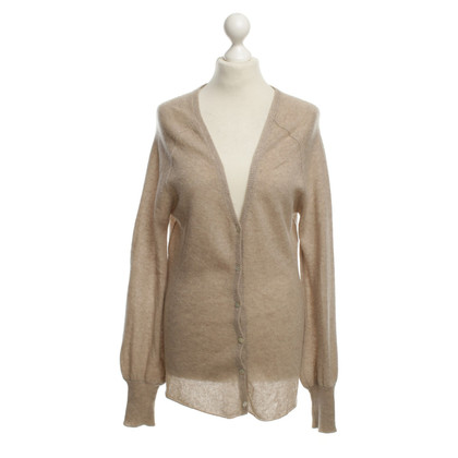 Dear Cashmere Kaschmir-Strickjacke in Beige