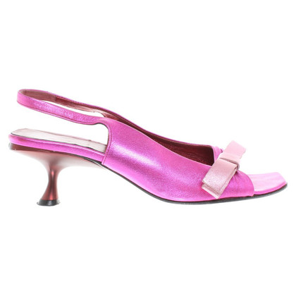 Miu Miu Sandals with metallic effect