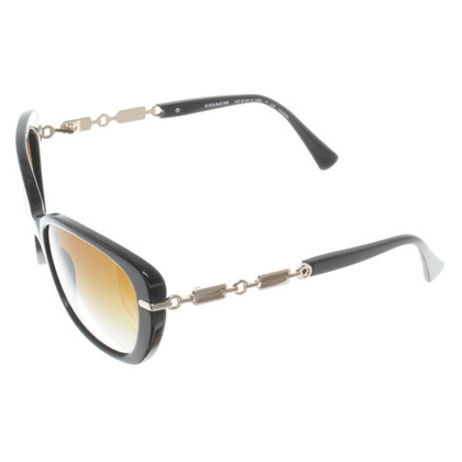 Coach Sunglasses with gold-colored details