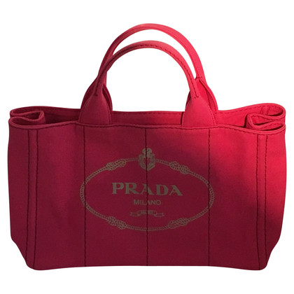 Prada Canvas Shopper