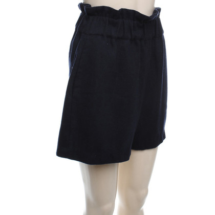 Ganni Shorts in donkerblauw