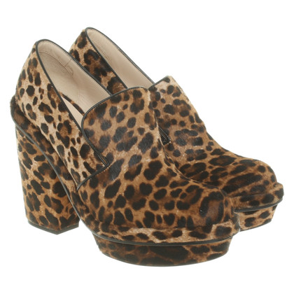 Simone Rocha Ankle boots in animal look