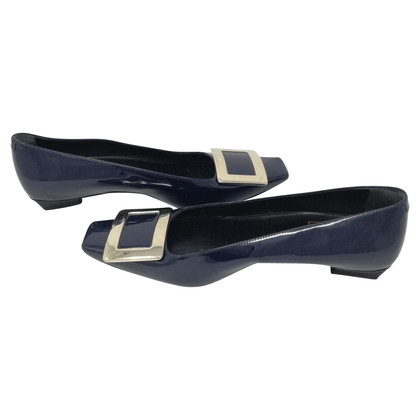 Roger Vivier Painted ballet flats