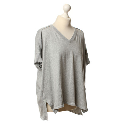 Blonde No8 Knitting top in grey
