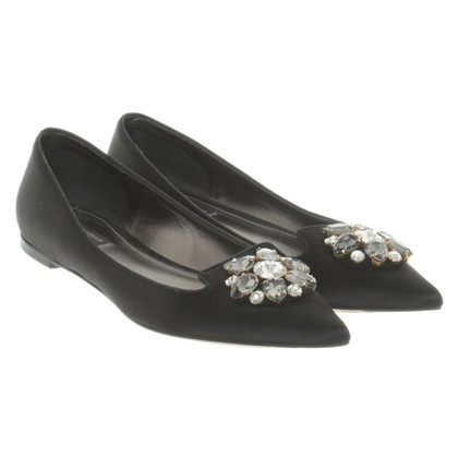 Dolce & Gabbana Ballerinas with semi-precious stones