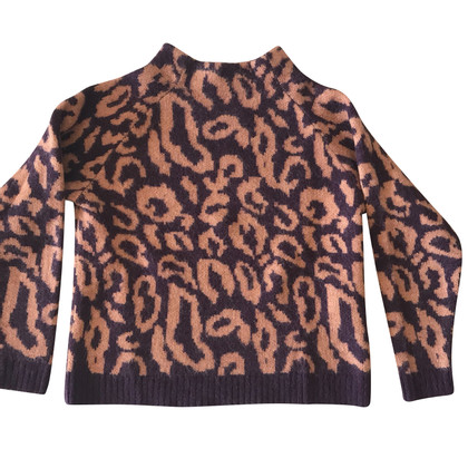 By Malene Birger Sweater with animal print