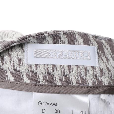 Muster mit St Webmuster Bunt Emile St Emile Hose OpSqqC0x