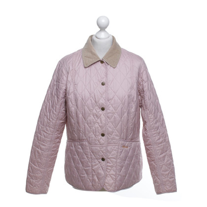 Barbour Veste matelassée en rose