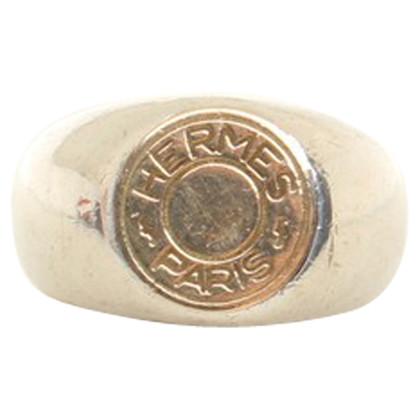 Hermès Silver colored sealing ring