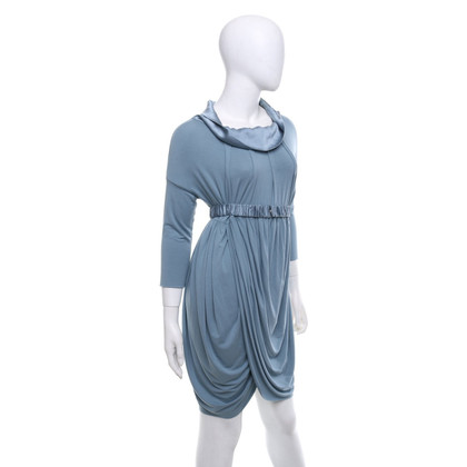 Twin-Set Simona Barbieri Kleid in Grau-Blau