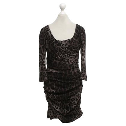 Dolce & Gabbana Dress with animal print