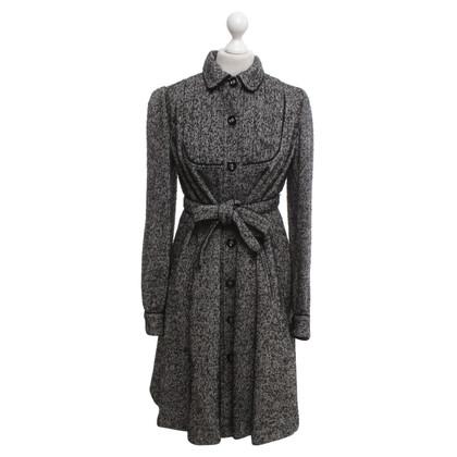 Anna Sui Mantel mit Salz-Pfeffer-Muster