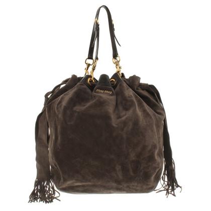 Miu Miu Bucket bag made of calfskin suede