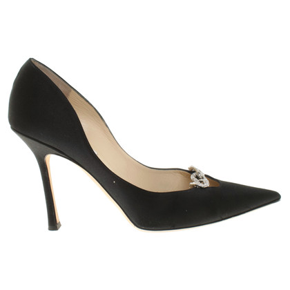 Jimmy Choo Satin pumps in nero