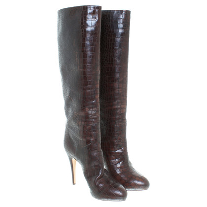 Casadei Boots in Burgundy