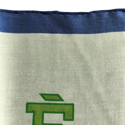Hermès Carré of cashmere / silk