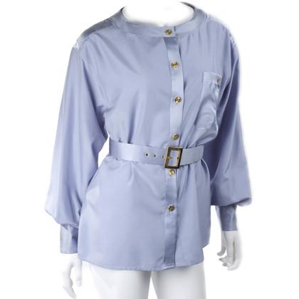 Chanel Vintage Bluse mit Gürtel