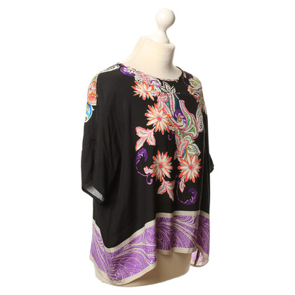 Etro top with a floral pattern