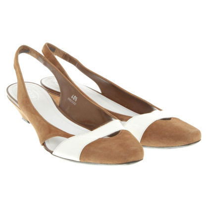 Tod's Slingback ballerinas with wedge heel