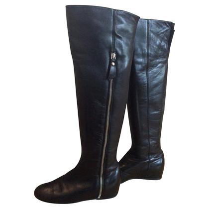 Stuart Weitzman Elf Over the knee wedge boots