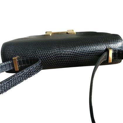 "Hermès ""Constance Bag Mini"" made of lizard leather"