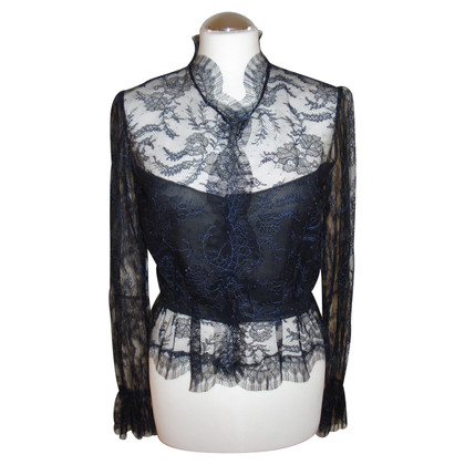 Other Designer Peter Keppler - lace blouse