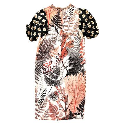 BiYan Embellished silk dress