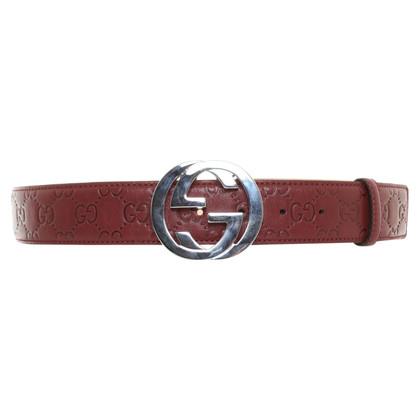 Gucci Belt in Bordeaux