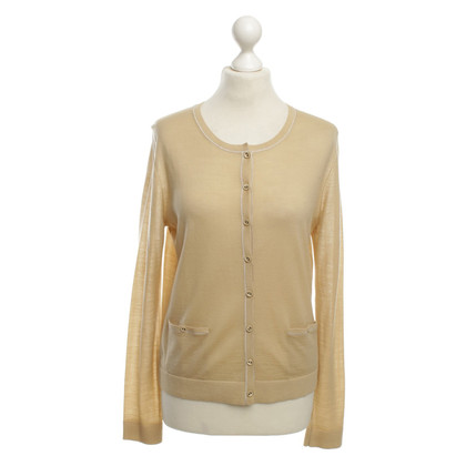 Hugo Boss Kurzer Cardigan in Beige
