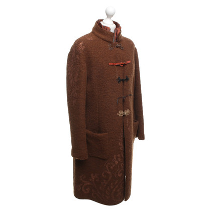 Maliparmi Coat in brown