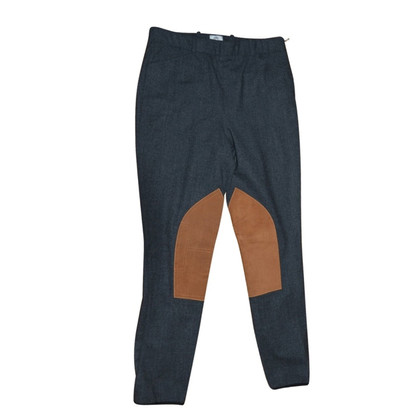 Hermès Pants made of wool/leather