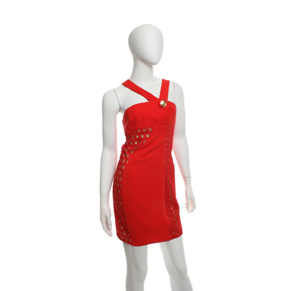 Versace for H&M Silk dress in red