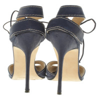 Manolo Blahnik Sandals in blue