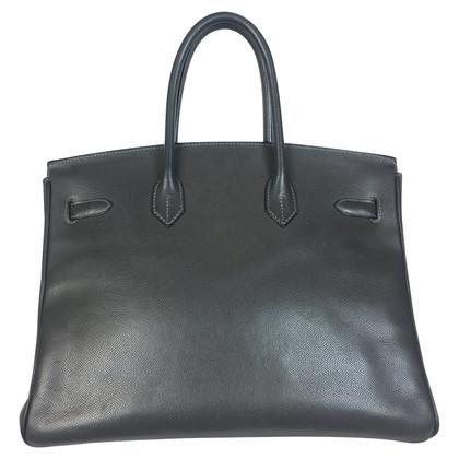 "Hermès ""Birkin Bag 35 Epsom Leder Graphite"""