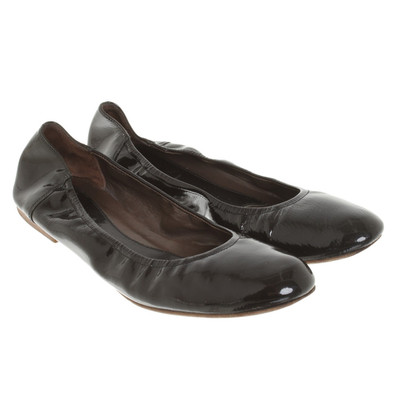Marni Ballerina's patent leather
