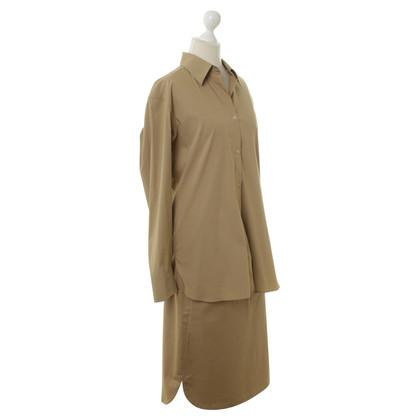 Jil Sander Light costume in beige