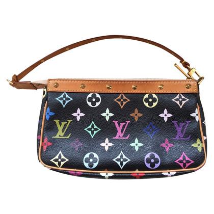 """Louis Vuitton """"Pochette Accessoires Monogram Multicolore Noir"""""""