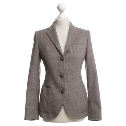 Tagliatore Woll-Blazer in Grau