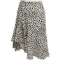 Chloé skirt with punk pattern