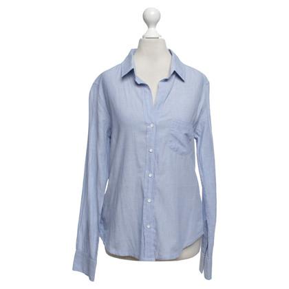 Velvet Camicia in azzurro