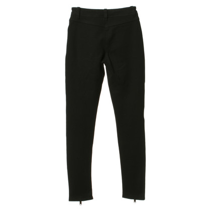 Karl Lagerfeld Biker trousers with leather inserts