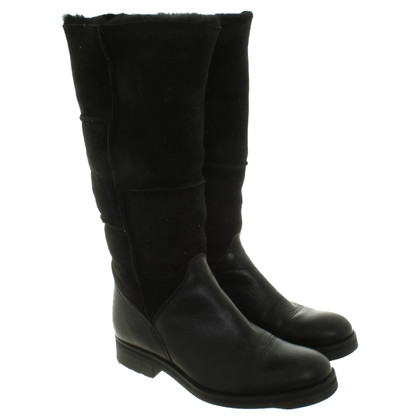 Aigle Boots in black